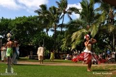 Polinezyjska tancerka