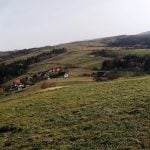 Widok z Żabiej Góry. Panorama Beskidu Wyspowego