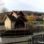 Domek na wodzie w Rymanowie Zdrój. Atrakcja turystyczna.