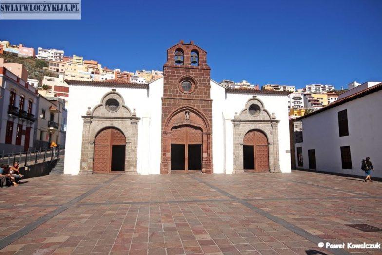zabytkowy kościółek - San Sebastian - La Gomera